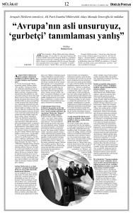 Mustafa Yeneroğlu ile Söyleşi